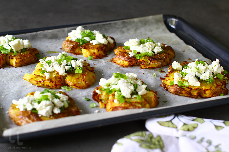 cartofi zdrobiti reteta video cartofi zdrobiti la cuptor reteta laura laurentiu