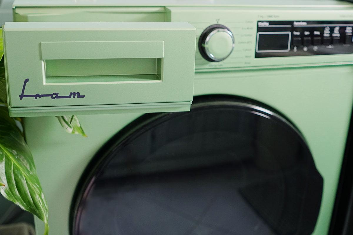 masina de spalat verde brandul fram