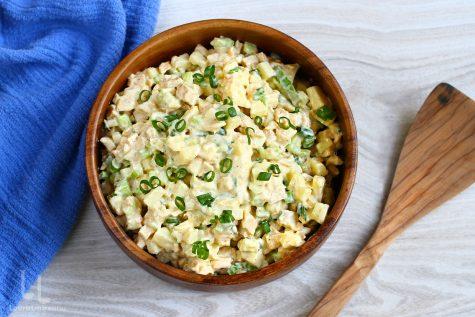 salata de pui reteta video salata de pui cu mar si telina video salata de pui cu telina reteta